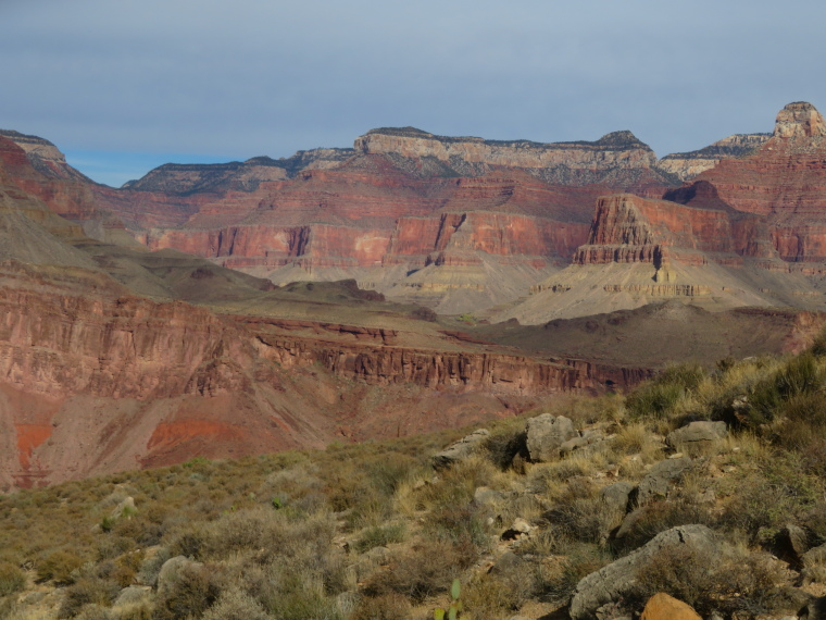 Tonto, across to N Rim - © William Mackesy