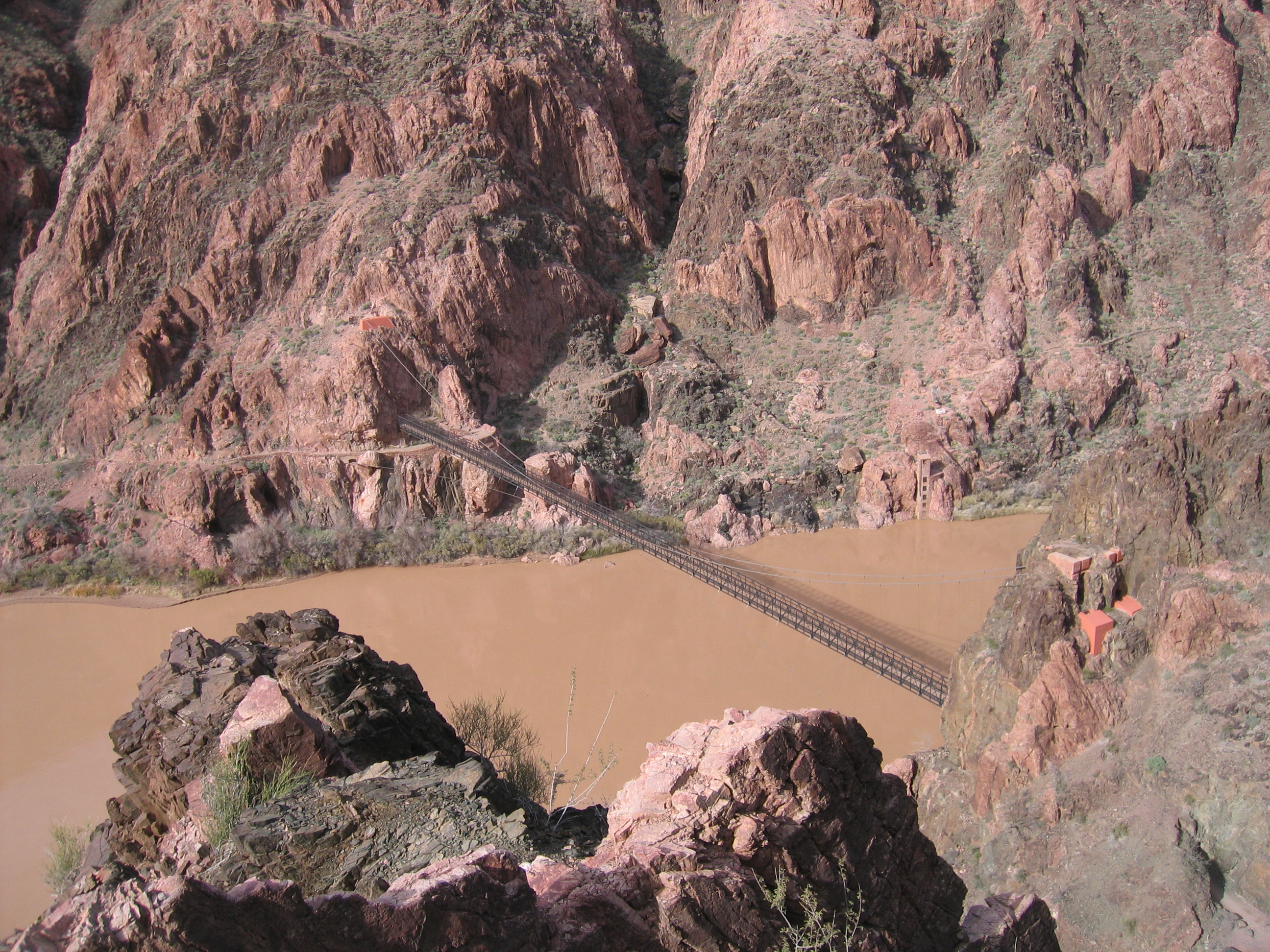 Colorado River Crossing, South Kaibab Trail - © Katherine Stuart