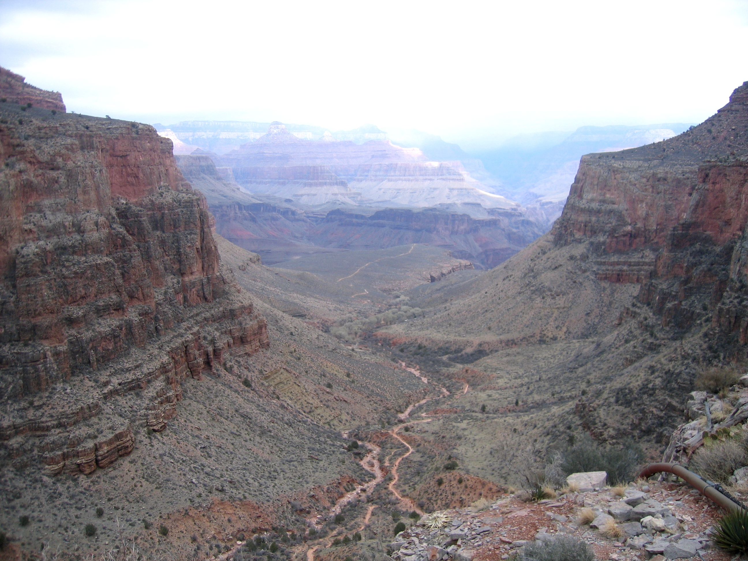 Bright Angel Trail - © Katherine Stuart