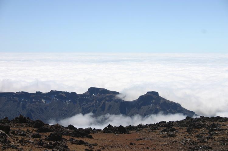 El Teide and Pico Viejo: Las Canadas From near Pico Viejo - © William Mackesy