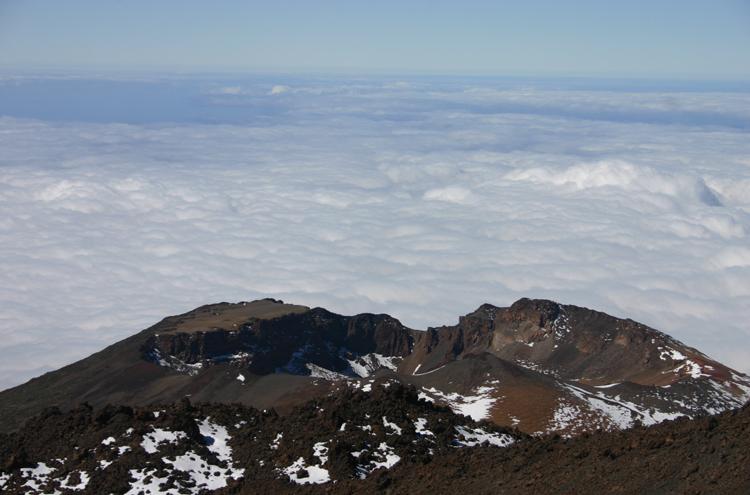 El Teide and Pico Viejo: Pico Viejo From El Tiede - © William Mackesy