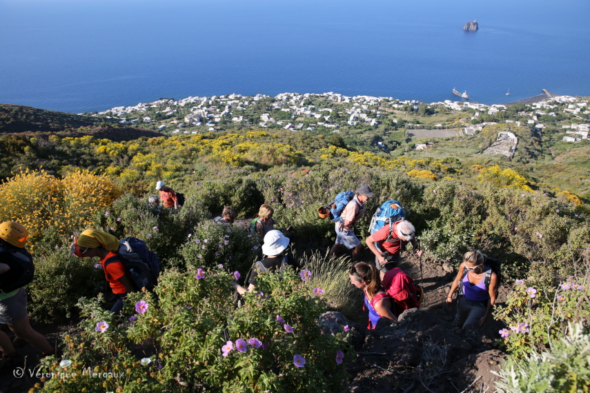 Italy Aeolian Islands, Stromboli, Stromboli Climb, Walkopedia