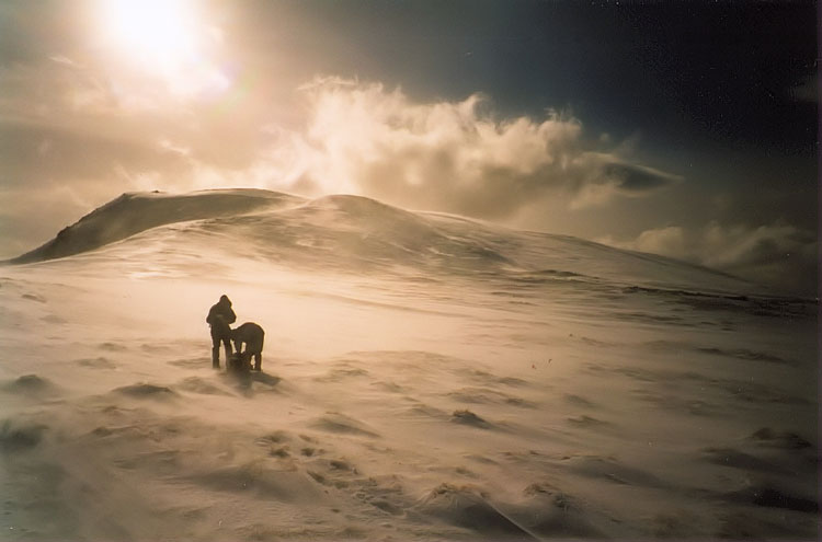 Ben Nevis: Summit of Ben Nevis - © By Flickr user MartinVMorris