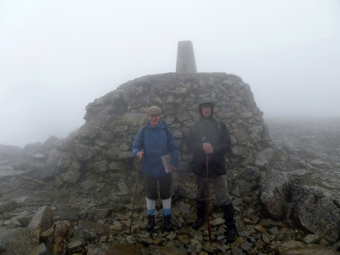 Ben Nevis: The Summit  - © James Kerr