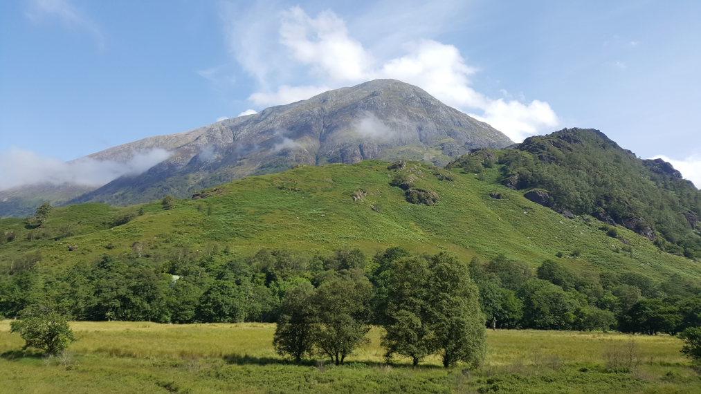 United Kingdom Scotland SW Highlands, Ben Nevis, Ben Nevis fm Glen Nevis, Walkopedia