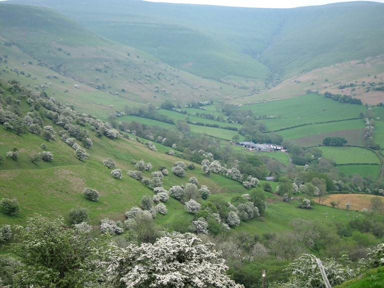 Castell Dinas and Rhiangoll Valley: