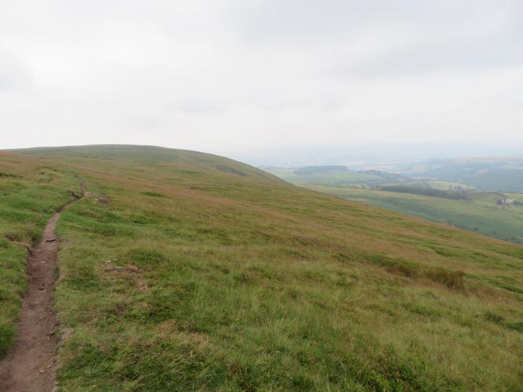United Kingdom Wales Black Mountains, Hatterrall Ridge, Hatterrall ridge north flank, Walkopedia