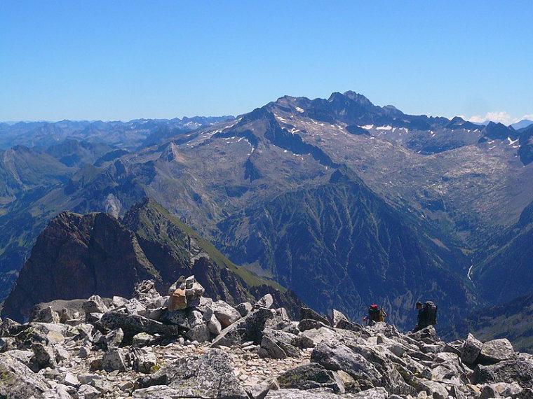Maladeta Mt. from Perdiguero  - © wiki user Santiago Puig Vilado