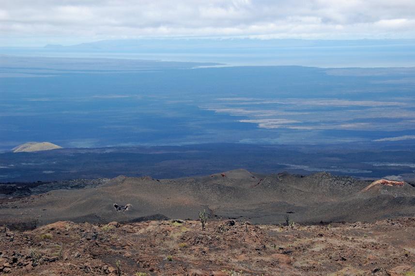 Ecuador Galapagos Islands, Galapagos Islands, From Sierra Negra Volcano, Walkopedia