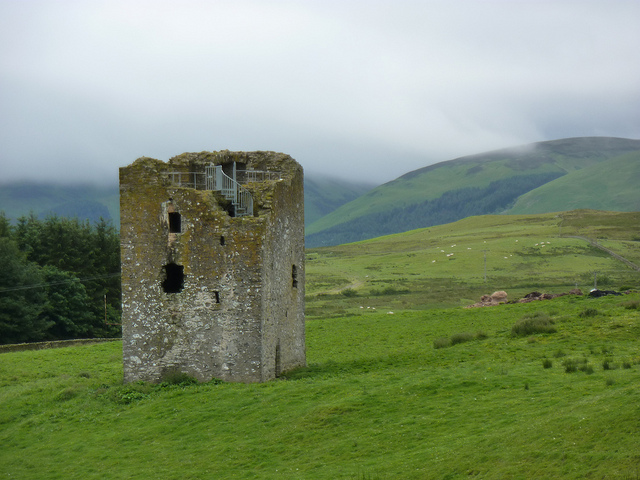 The Borders: Southern Uplands Way - Dryhope Tower  - © flickr user Andrew Bowden