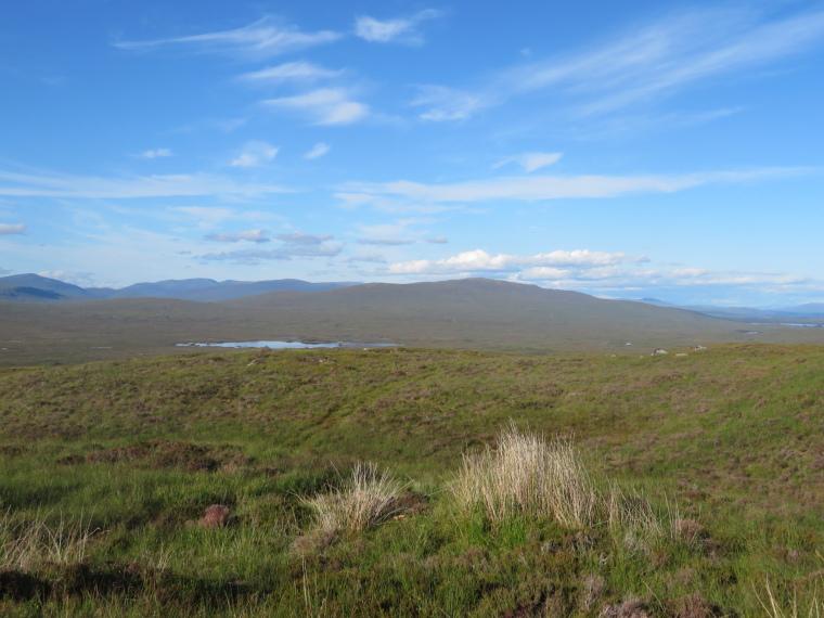 United Kingdom Scotland SW Highlands, West Highland Way, Across edge of Rannoch Moor, Walkopedia
