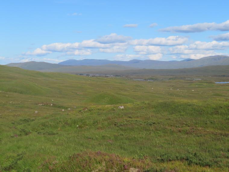 United Kingdom Scotland SW Highlands, West Highland Way, Rannoch Moor, Walkopedia