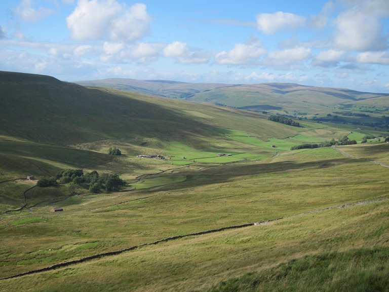 Sleddale from Cam High Road - © William Mackesy