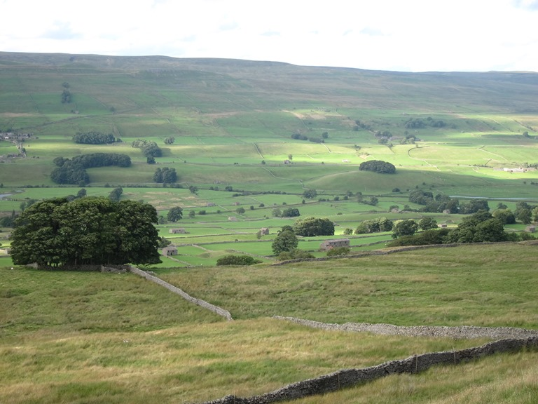 Wensleydale from Wether Fell 2 - © William Mackesy