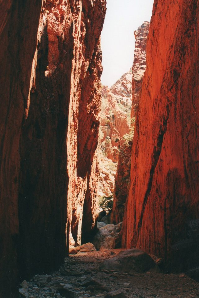 Standley Chasm - © William Mackesy