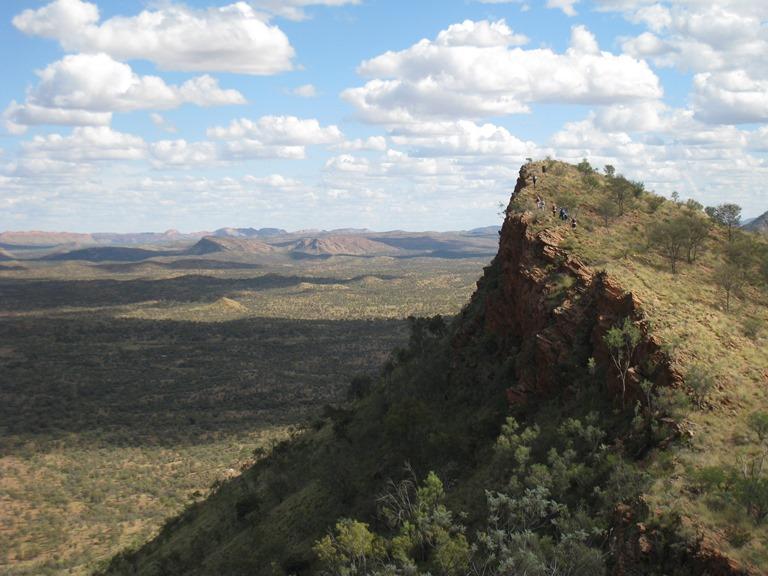 Australia Northern Territory, West Macdonnell Ranges, Euro Ridge, Walkopedia