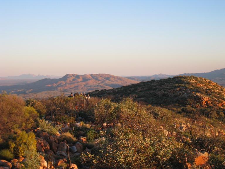 Australia Northern Territory, West Macdonnell Ranges, From Mt Sonder, Walkopedia