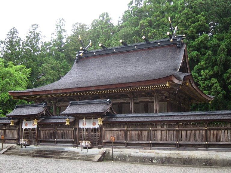 Kumano Kodo: Hongu Taisha  - © William Mackesy