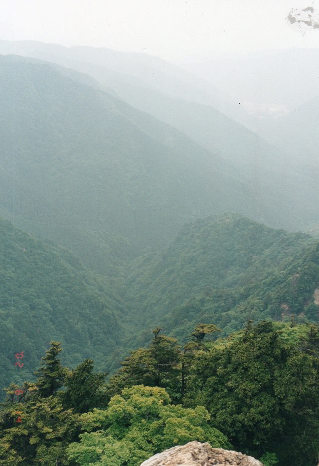 Kumano Kodo: Omine-san, view  - © William Mackesy