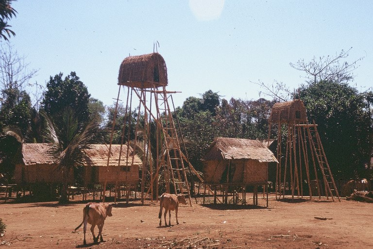 Cambodia - Rattanakiri - hill tribe houses - © flickr user- Carpe Diem Travel