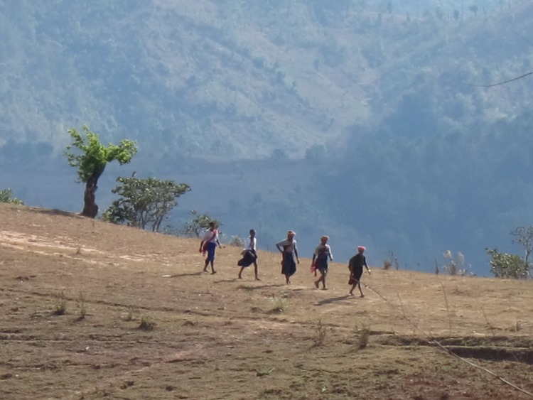 Cambodia, South East Asian Hill Tribe Walks, Myanmar - Going to festival near Kalaw, Walkopedia