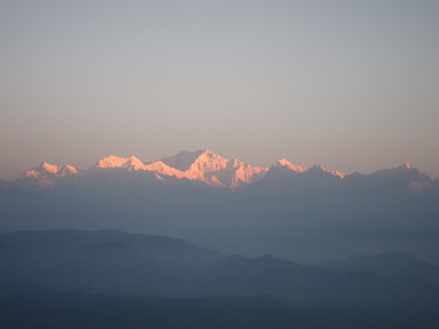 Kangchenjunga, early light - © William Mackesy