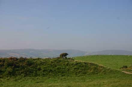 """Offa's Dyke Path: Offa""""s Dyke -  - © William Mackesy"""