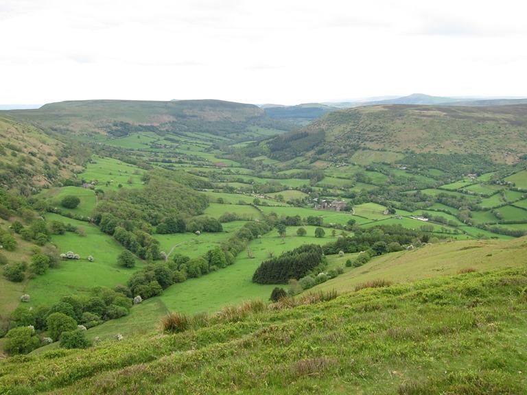Offa's Dyke Path: Hatterall Ridge - © William Mackesy