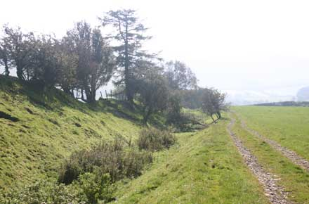 United Kingdom England/Wales, Offa's Dyke Path, Offa's Dyke - The bank and ditch, Walkopedia