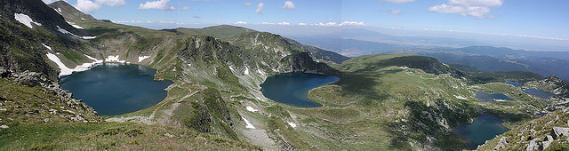 Six out of Seven Rila Lakes - © flickr user Klearchos Kapoutsis