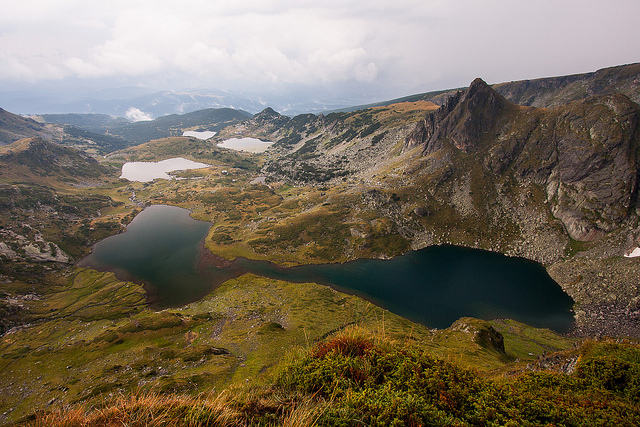 Rila Mountains: Twin Lakes in Rila Mountains - © flickr user Fillips Stoyanov