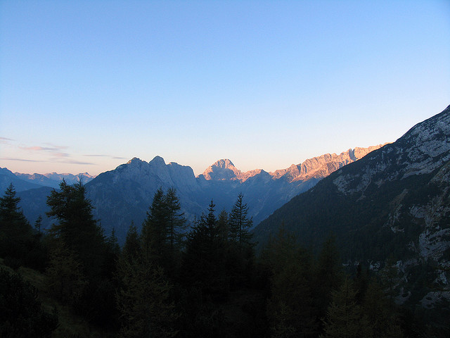 Triglav and the Jalps - © flickr user Wo Shing Au