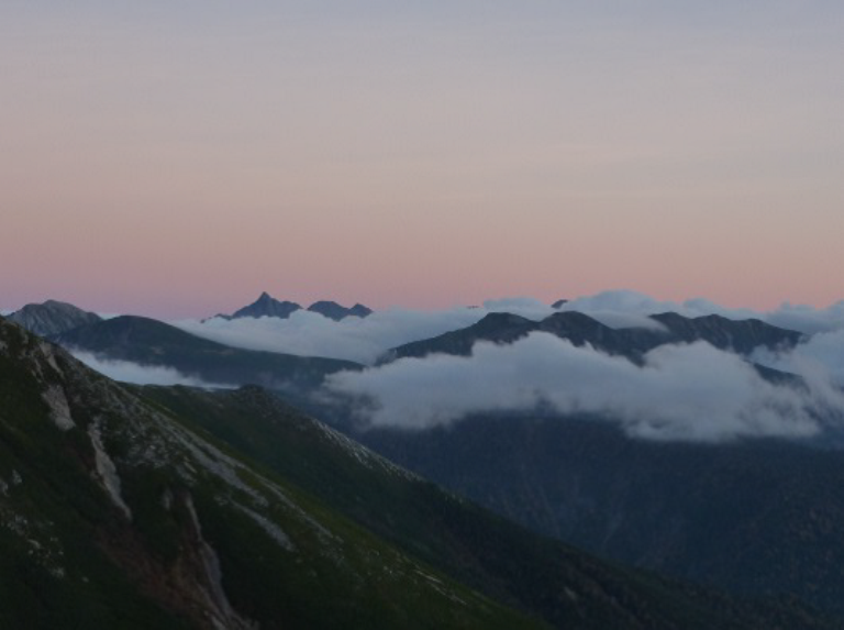 Japan Japanese Alps (Chubu), Murodo-Kamikochi, Yari-Ga-Take., Walkopedia