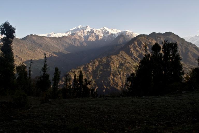 Pindari Glacier Trek: Roll over - © Parth Joshi
