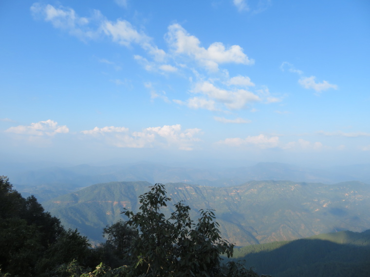 Binsar Wildlife Sanctuary: From Zero Point - © William Mackesy