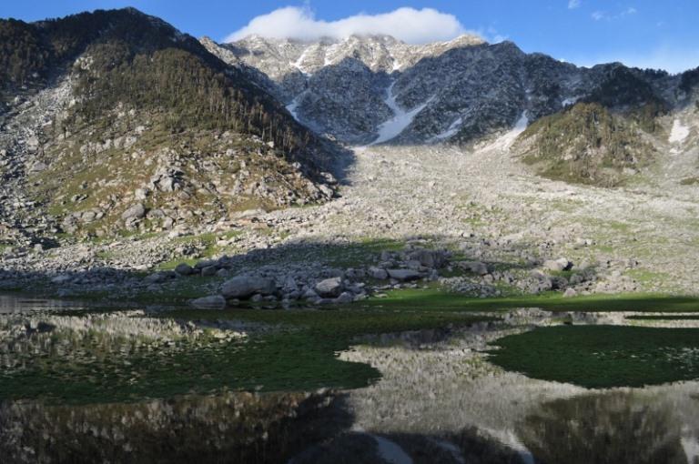 Kareri Lake: © trekhimachal.com