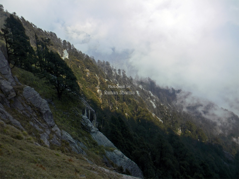 Indrahar Pass: On the trail of Triund-Indrahar pass - © Raman Sharma