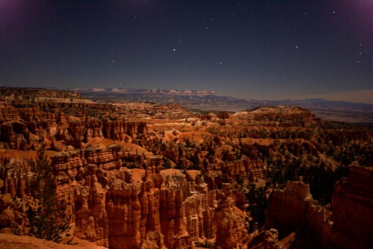 USA SW: Bryce Canyon, Bryce Canyon, Bryce Canyon, Night , Walkopedia