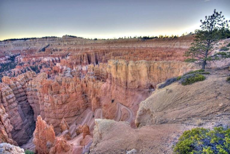 USA SW: Bryce Canyon, Bryce Canyon, Bryce Switchbacks, Walkopedia
