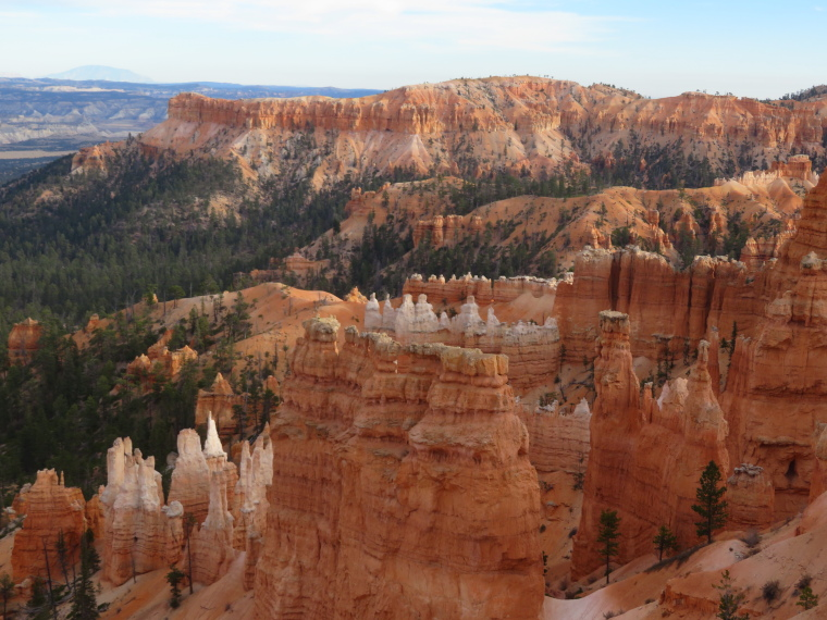 USA SW: Bryce Canyon, Bryce Canyon, From the rim, Walkopedia