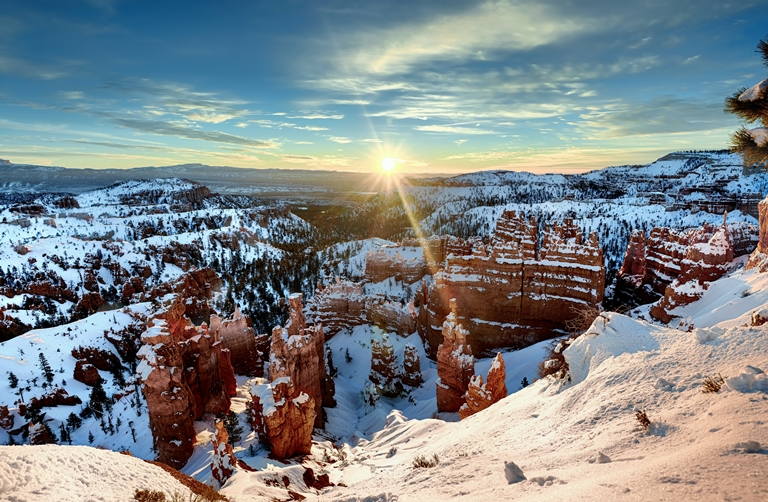 Bryce Canyon: Sunrise! What a Glorious Sunrise! - © Mark Stevens flickr user