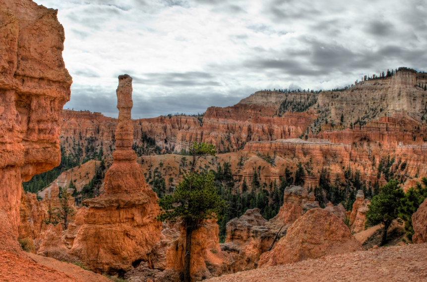 USA SW: Bryce Canyon, Peekaboo Trail, , Walkopedia