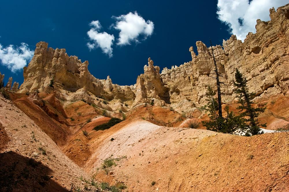 USA SW: Bryce Canyon, Peekaboo Trail, Looking up, Walkopedia