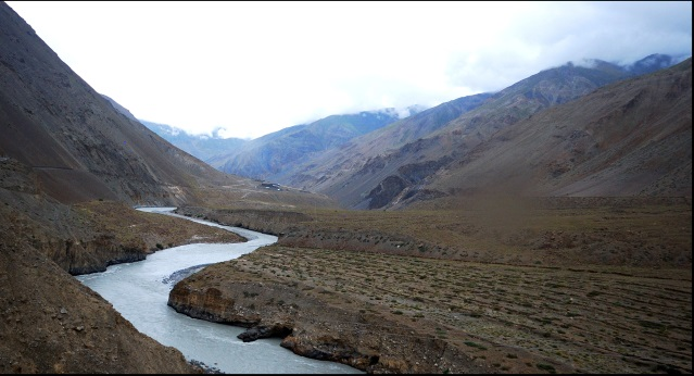Tarik La : Spiti river - © Flickr user Ajith U