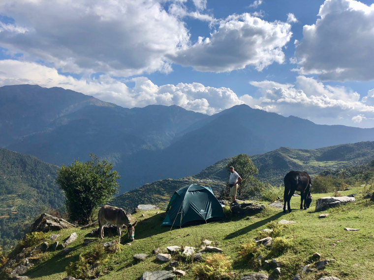 Campsite, Day 3  - © Lucy Clive