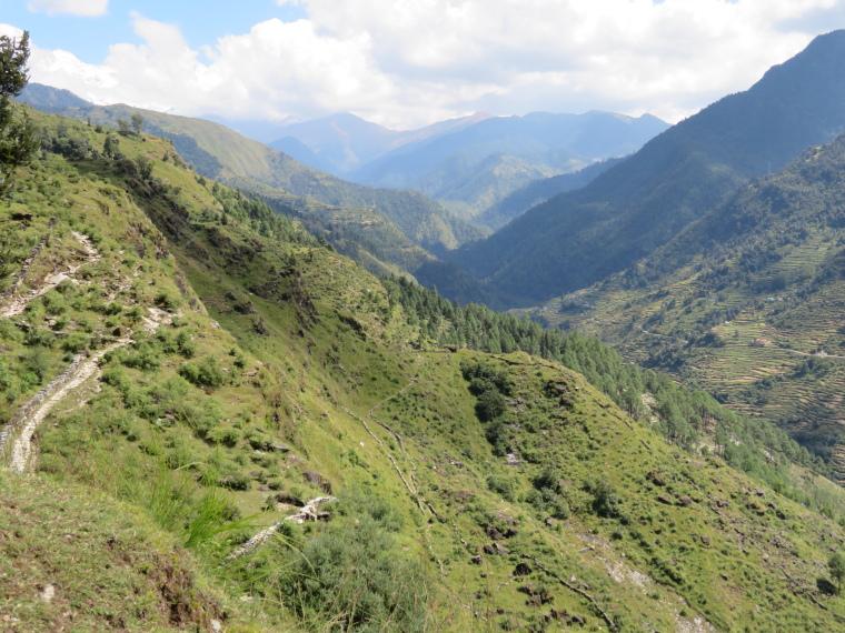 Kuari Pass (Curzon Trail) : © William Mackesy