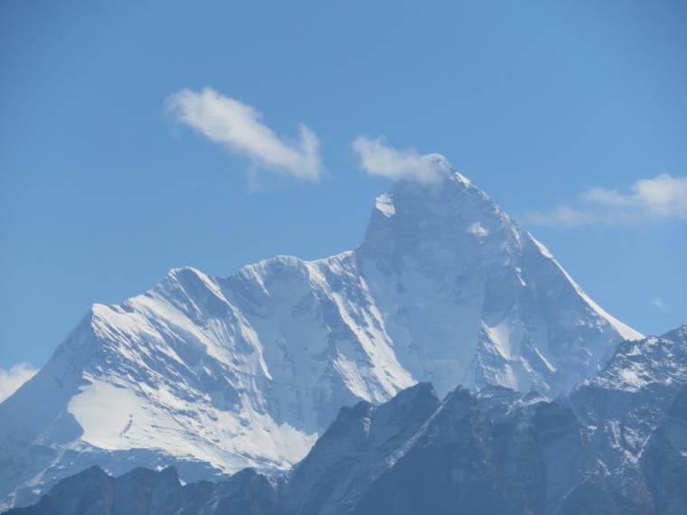 India NW: Uttarakhand/Garwhal, Kuari Pass (Curzon Trail) , Nanda Devi from Curzon Trail, Walkopedia
