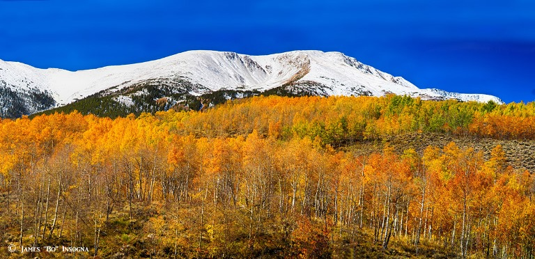 Colorado Rocky Mountain Independence Pass Autumn Pano - © TheLightningMan.com flickr user