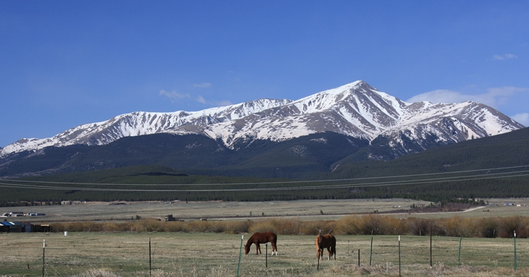 Mount Elbert  - ©David Herrera flickr user ...