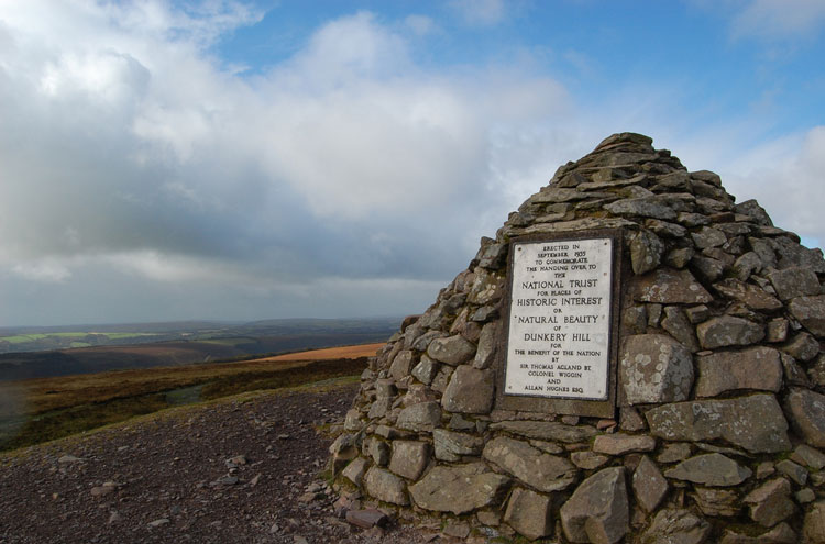 Dunkery Beacon: Dunkery Beacon - © By Flickr user Strife